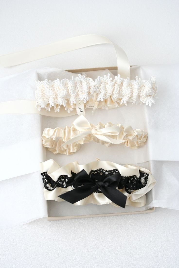 Boudoir Photography Wedding Garter Set