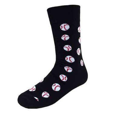 Men's Softball Socks / Black