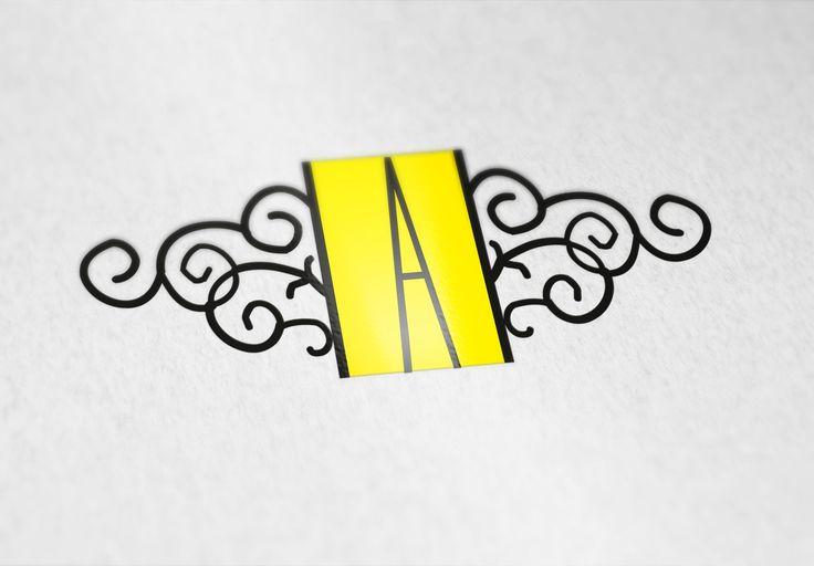Aplicación reducida de logo diseñado para El Anticuario