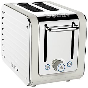 Dualit Architect 2-Slice Toaster, Canvas White/Stainless Steel - on order :)