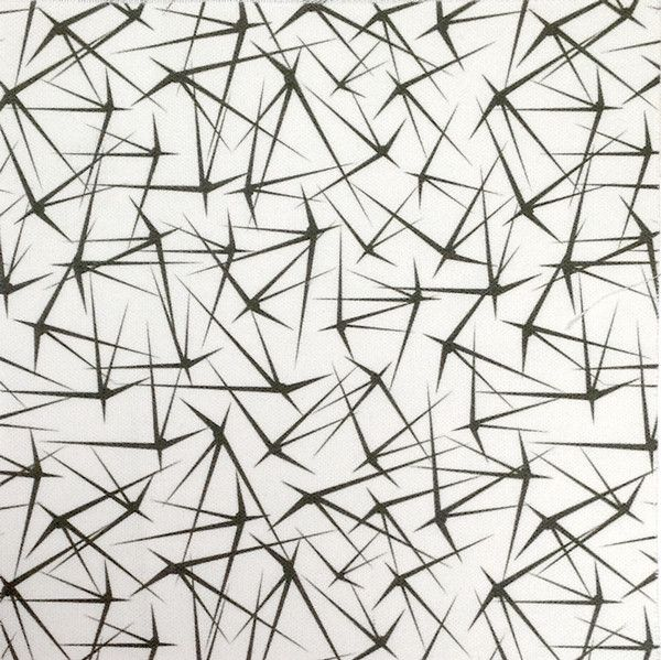 Prickly Cactus Fabric. Designed by Petra from Perunoto. £50.00 per metre. White. www.jessandjules.co.uk