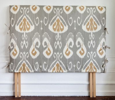 Headboard covers with side ties - The Dormy House