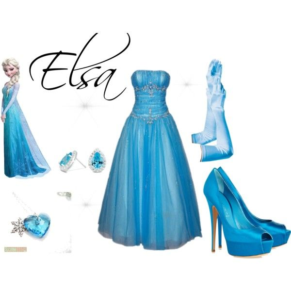 """""""Elsa from Frozen Inspired Outfit"""""""