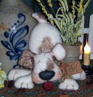 Patti's Ratties Farley Dog Pattern