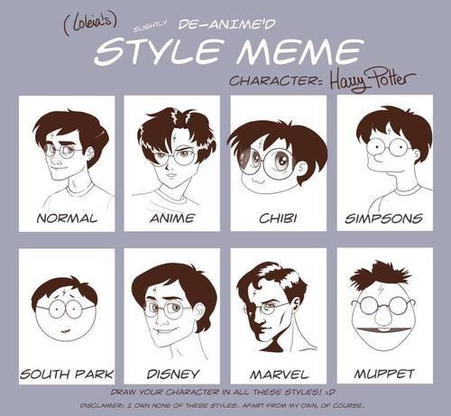 harry potter across worldsStyle Memes, Deanim Harry, Stuff, Harry Potter Style, Harrypotter, Funny, Animal Style, Potter Animal, Cartoons Style