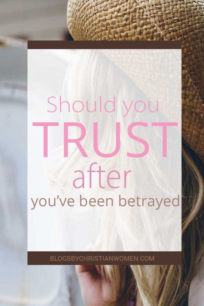 how to learn to trust your partner again