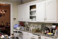 Armoire de cuisine portes avant