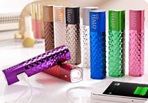 HALO 2,800 mAh Portable Charger for Cellphones w/ Flashlight
