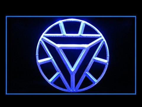 ARC Reactor Iron Man LED Neon Sign www.shacksign.com