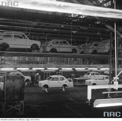 FIAT 126 assembly line