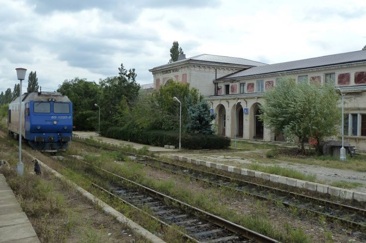 Station Giurgiu-Nord, grens Roemenië-Bulgarije