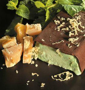 Kendal Mint Cake Choc Ice recipe by Marcus Wareing