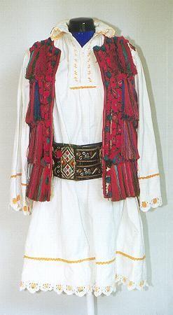 Men's costume from county of Bistriţa-Năsăud