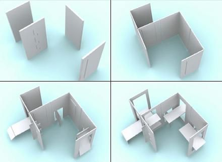 Multi-functional Cardboard furniture | I New Idea Homepage