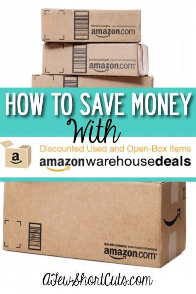 Did you know amazon has open box & clearance discounts? Check out How to Save Money with Amazon Warehouse Deals! It is a great little secret!