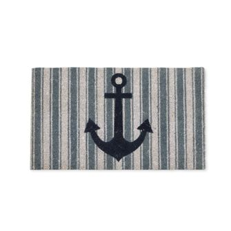 STRIPED ANCHOR DOORMAT -