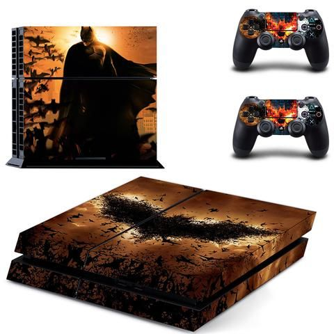 Batman ps4 skin decal for console and 2 controllers