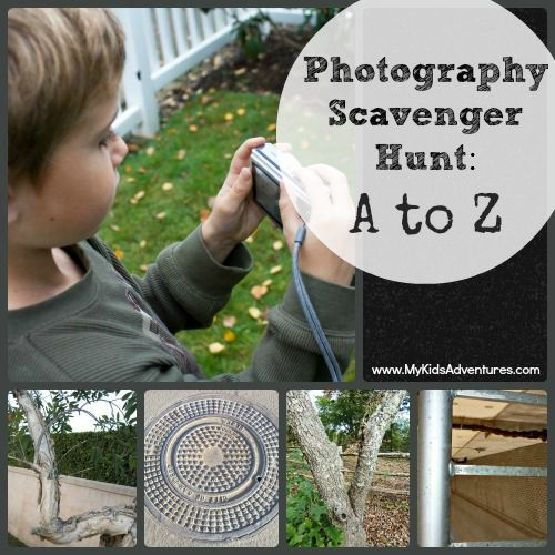 How to plan an A to Z photo scavenger hunt that will get your family outside exploring your neighborhood or park and begging to stay out longer.