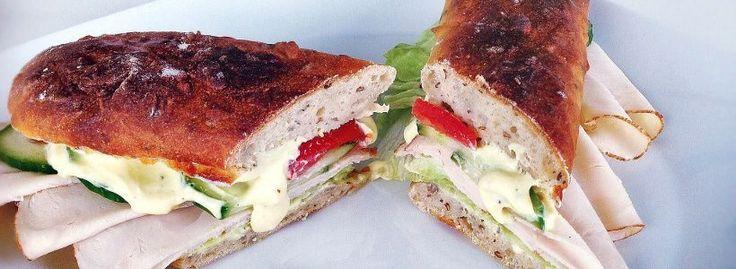 Selbstgemachtes Subway Sandwich   Snack 2 Go #Sandwich #Rezept #Subway