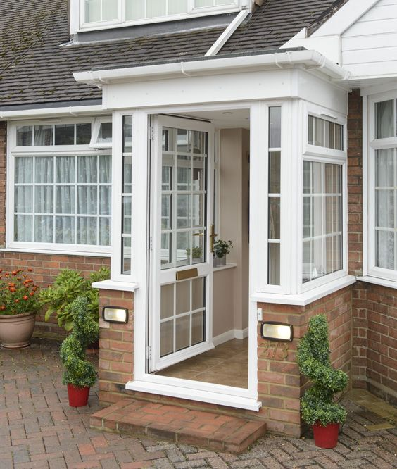 17 best ideas about upvc porches on pinterest house for Grey upvc porch