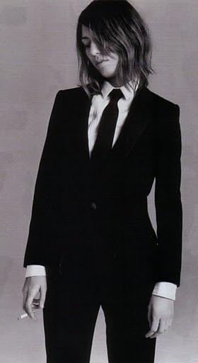 Sophia Coppola. Minus the cigarette I love this look.