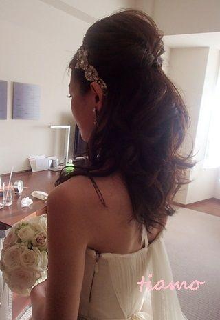 美人花嫁さまの素敵な3スタイル♡後編♡ |大人可愛いブライダルヘアメイク『tiamo』の結婚カタログ|Ameba (アメーバ)