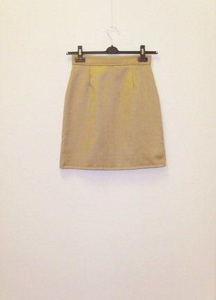 Kup mój przedmiot na #vintedpl http://www.vinted.pl/damska-odziez/spodnice/17778962-wymiana-50-zl-spodnica-prosta-wyzszy-stan-camel-szyta-na-zamowienie-36