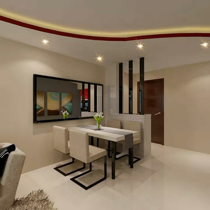 Coloured False Ceiling