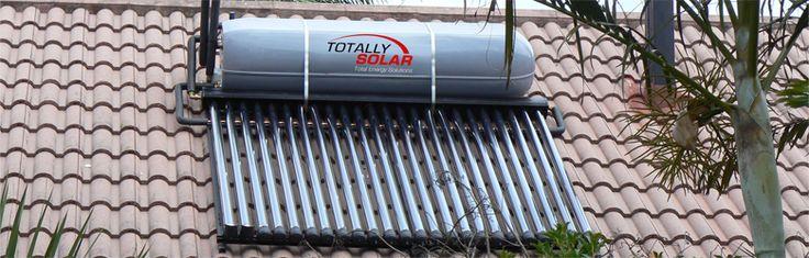 Totally Solar High Pressure Solar Geyser Installation