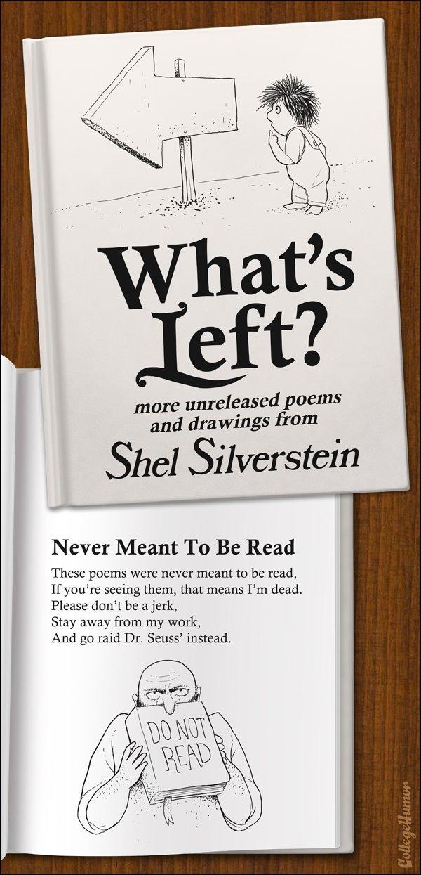 Fake Shel Silverstein.