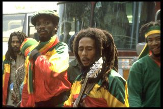 BOB MARLEY, bob is always here to guide us. http://www.npr.org/2014/06/09/320313197/the-wailers-carry-on-bob-marleys-legacy