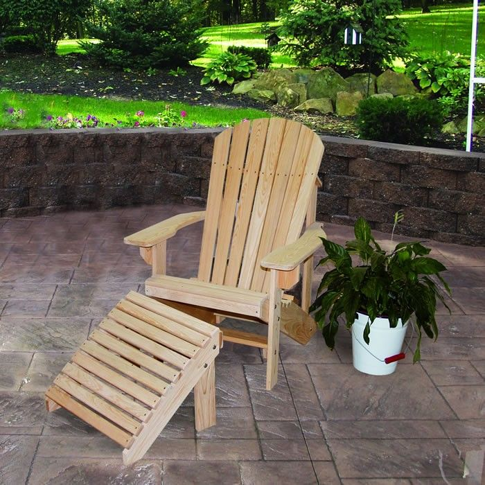 Cedar Ottoman Plans ~ Best images about amish made outdoor furniture on