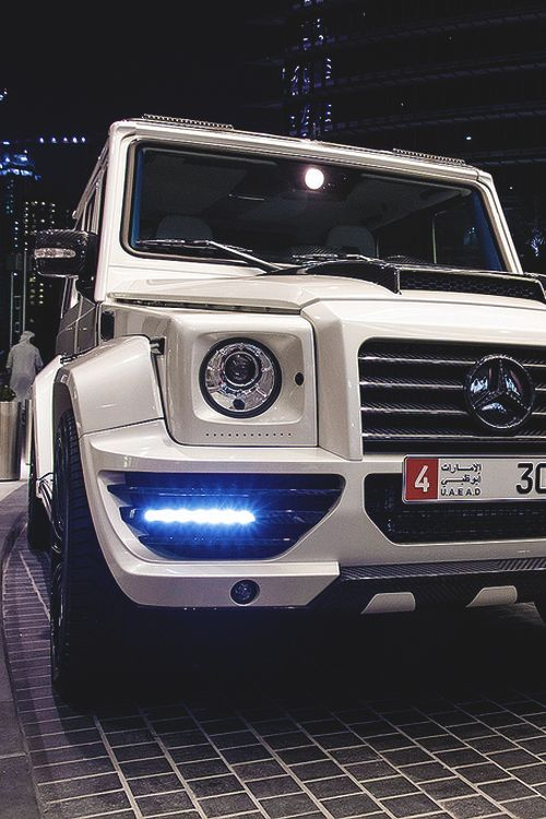 i've always wanted a Mercedes Jeep