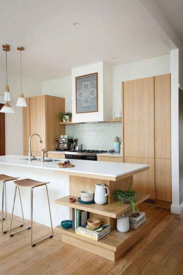 Scandinavian Apartment With Industrial And Mid Century Modern Touches Decordots Scandinavian Kitchen Design Interior Design Kitchen Rustic Kitchen Design