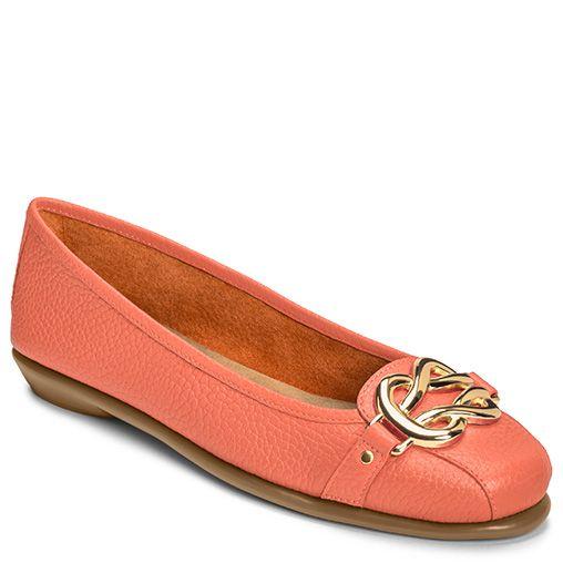 High Bet Buckle Ballet Flat | Women's All Wide Shoes Wide Widths | Aerosoles