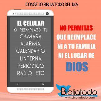 No permitas que tu celular reemplace el lugar de Dios