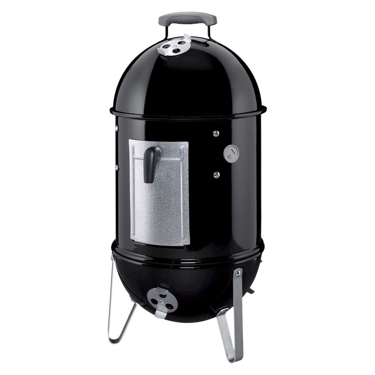 Weber Smokey Mountain Cooker Smoker- 14 inch, Black
