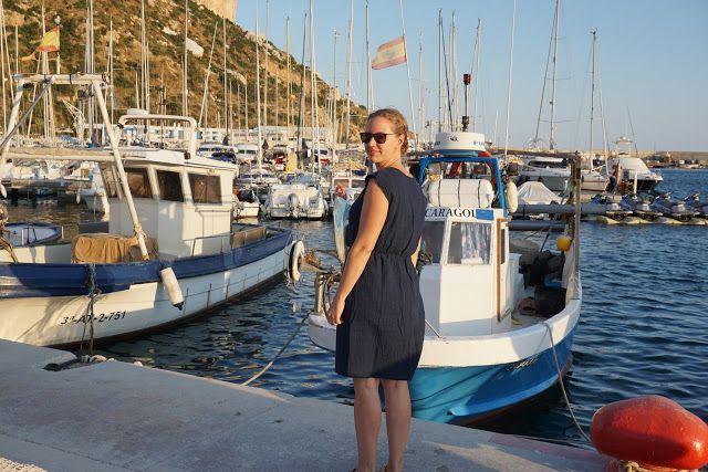 Kleid aus Musslin für Strand und Alltag
