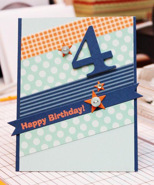Great Impressions: Happy 4th Birthday!
