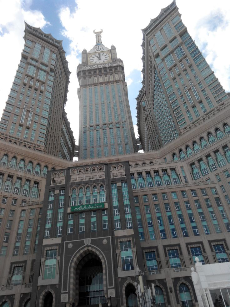 Zam Zam Tower infront of the Holy Mosque Masjidil Haram