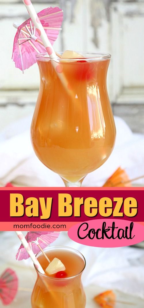Bay Breeze Cocktail Easy Drink Recipe To Make At Home Cocktails