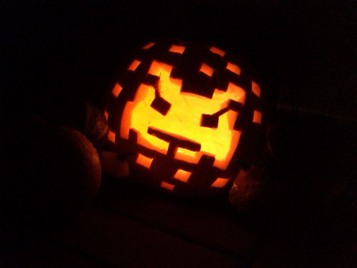 Last year carving #pumpkin
