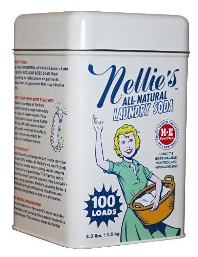 Nellie's NLS-100T All Natural Laundry soda, 100 Load Tin, NLS-100T, 3.3 Pound, http://www.amazon.com/dp/B001GODIEE/ref=cm_sw_r_pi_awdm_x_k8g1xbPAS0JZ1