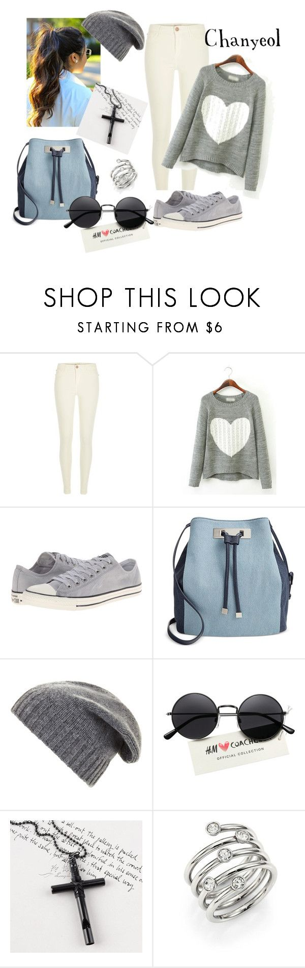 Chanyeol Exo Airport by carol dalla on Polyvore featuring moda, River Island.