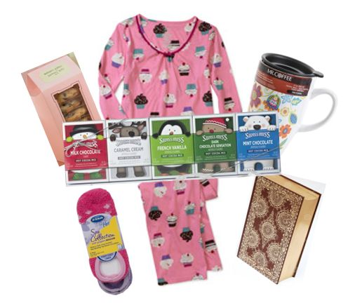 The Perfect Gift Diy Winter Comfort Basket A Cute Set Of