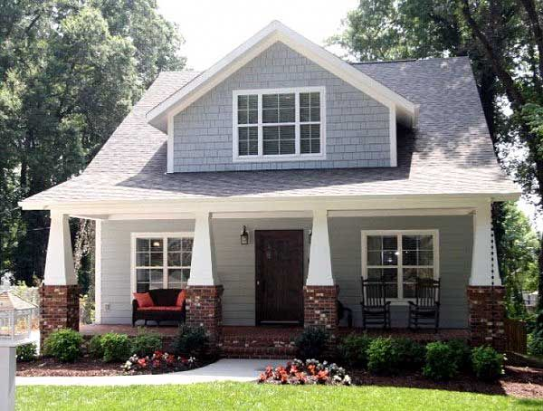 plan 50102ph classic craftsman cottage with flex room