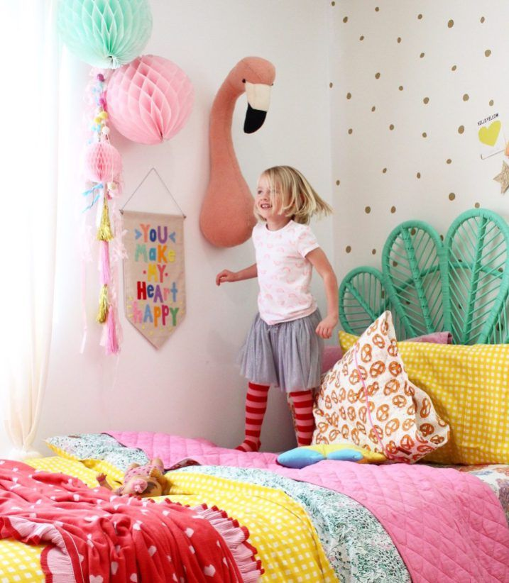 Kids Bedroom Ideas // Rainbow Retreat