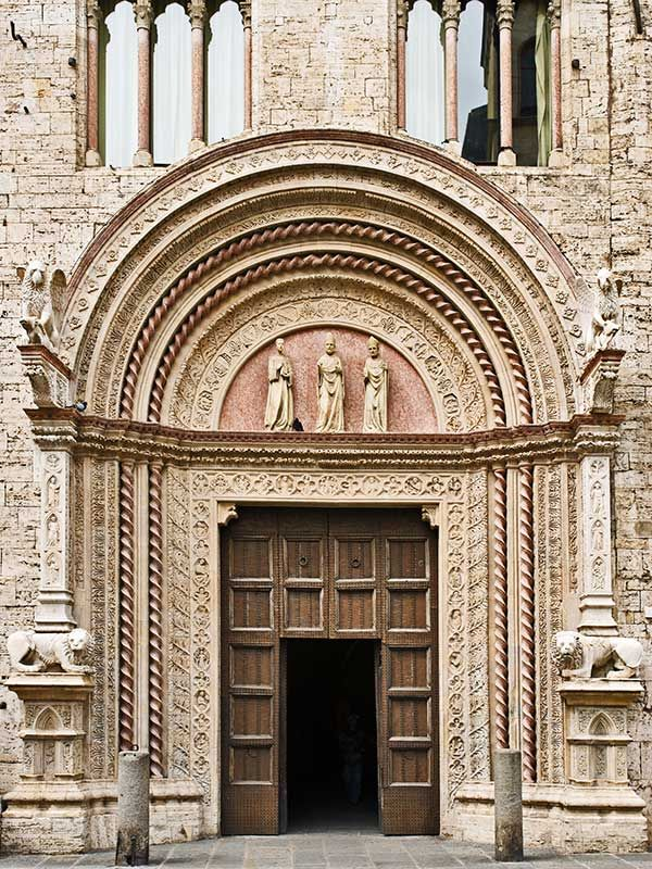 Perugia - Portal of Arts (Palazzo dei Priori)