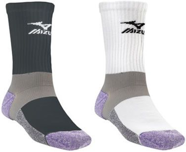mizuno. best socks in the entire world. A perfect stocking stuffer for someone who needs new volleyball socks!!