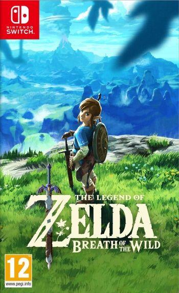 The Legend of Zelda - Breath of the Wild - Nintendo Switch - Discshop.se